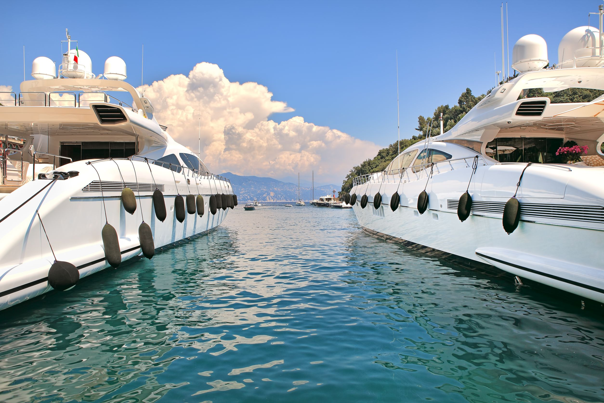 Two Boats in Cap Ferrat