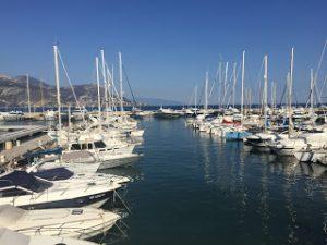 Yachts in Cap Ferrat Harbour