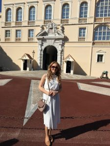 Lucy at Monaco Palace