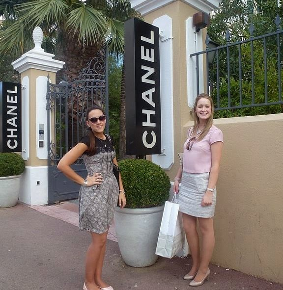 2 Elegant Address Consultants at Chanel House in Saint Tropez