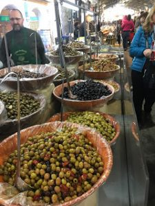 Olives in Antibes Market